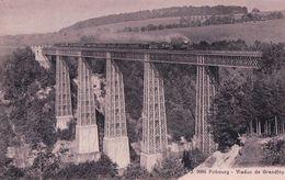 Fribourg, Viaduc De Grandfey, Chemin De Fer Et Tain à Vapeur (9986) - FR Fribourg