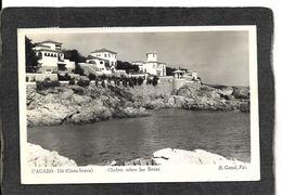 S'agaro,Spain-Chalets Sobre Las Rocas,Waterfront Houses RPPC 1955 - Antique Real Photo Postcard - Autres