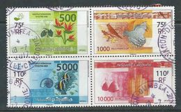 Nieuw-Caledonie, Yv  1208-11 Jaar 2014,  In Blok,  Gestempeld, Zie Scan, - Nouvelle-Calédonie