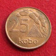 Nigeria 25 Kobo 1991 KM# 11a - Nigeria