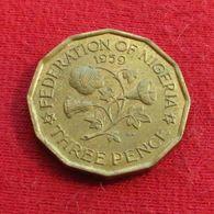 Nigeria 3 Three Pence 1959 KM# 3 - Nigeria