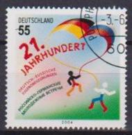GERMANIA REPUBBLICA FEDERALE 2004 GIOVENTU'UNITA GERMANIA-RUSSIA UNIF. 2240 USATO VF - Usados
