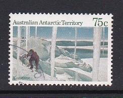 Australian Antarctic Territory  S 66 1984 Antarctic Scenes I 75c Coastline Used - Used Stamps