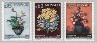 MONACO 1973 - SERIE  N°948/949/950 - NEUFS ** - Unused Stamps