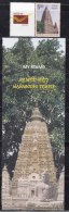 My Stamp  2016 + Tab, Mahabodhi Bodh Gaya Temple, UNESCO World Heritage, Buddhism, Architecture, Archeology, Tree, - Buddhismus