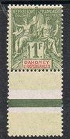 DAHOMEY N°15 N*  Bord De Feuille - Unused Stamps