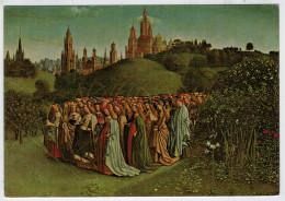 GENT    VAN EYCK  HET LAM  GODS    DE MAAGDEN  (LES SAINTES VIERGES)  (NUOVA) - Gent