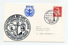 BRD 1983 MARINE WOCHENENDE BEI DER MARINE SM-BOOT CASTOR & SCORPION SST HORNUM/SYLT - [7] République Fédérale