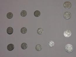 LOT DE 22 PIECES 1 ET 2 FRANC - H. 1 Franc