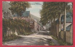 Hastière - Route D'Ermeton ... Jolie Carte Couleur-  S.B.P. - 1909 ( Voir Verso ) - Hastière