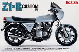 Kawasaki Z1-R Custom 1978 1/12 ( Aoshima ) - Motorcycles