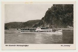 AK  Köln Düsseldorfer Rheindampfschiffahrt Schiff MS Gutenberg 1951 - Non Classés