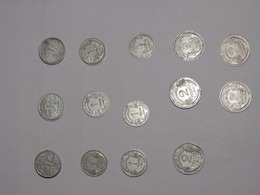 LOT DE 21 PIECES 1 ET 2 FRANC - H. 1 Franc