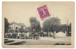 SUCY EN BRIE, AVENUE DE BONNEUIL, LE MARCHE - Val De Marne 94 - Camions Anciens, Circulé - Sucy En Brie