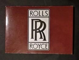 Automobilismo - Tutta La Storia Della Rolls-Royce - Michael Frostick - Old Paper