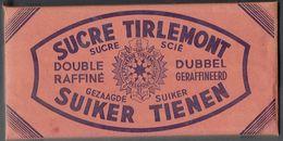 Très Ancien Paquet De Sucre Scié Tirlemont (Gezaagde Suiker Tienen) - Années 40/50 (Jamais Ouvert - Nooit Geopend) - Sucres