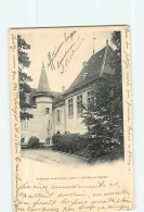 SAINT GEOIRE En VALDAINE - Château De Cabarot - Dos Simple -  2 Scans - Saint-Geoire-en-Valdaine