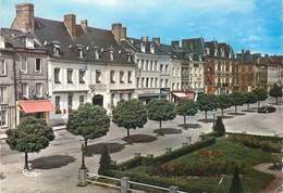 """CPSM  FRANCE 76 """"Bacqueville En Caux, Hotel Aigle D'Or"""" - France"""
