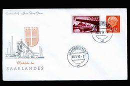 A5212) Saarland Brief Rückkehr Des Saarlandes 1.1.57 - Briefe U. Dokumente