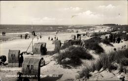 Cp Dierhagen In Mecklenburg Vorpommern, Partie Am Strand, Strandkörbe - Germany