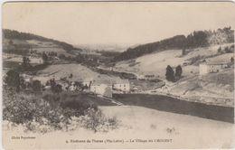CARTE POSTALE   Environs De THORAS 43.Le Village De CROUZET - France