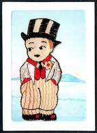 B1808 - Glückwunschkarte - Bestickt TOP - Ansichtskarten