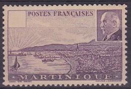 Martinique, Yvert N° 189a Sans Valeur Faciale, Sans Gomme - Signé Brun - Cote 300 € - Martinique (1886-1947)