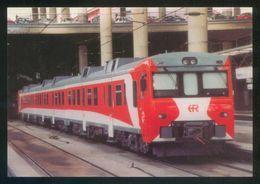 REPRO. España. Madrid. *Automotor Serie 592...Estación De Madrid-Pta. Atocha 2001* Ed. Eurofer Nº 871. Nueva. - Estaciones Con Trenes
