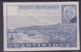 Martinique, Yvert N° 190a Sans Valeur Faciale, Sans Gomme Et Non Dentelé - Cote 300 € - Martinique (1886-1947)