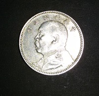 CHINE / CHINA - 10 Cents - 1 CHIAO - Year 3 (1914). 2,71 Gr. Silver Coin .Y#326 - China