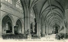 BLOIS - Edit MALCUIT N° 110 - Cathédrale Saint Louis - Une Nef Latérale - Blois
