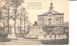 Bourg-Léopold - CPA - Camp De Beverloo - Hôtel De Ville - Monument - België