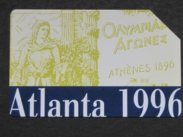 ITALY  OLIMPIC GAMES ATLANTA 1996 - USED, HIGHER QUALITY - Jeux Olympiques