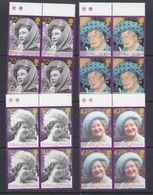 Falkland Islands 2002 Queen Mother 4v Bl Of 4  ** Mnh (37812A) - Falklandeilanden