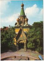 Sofia - L'église Russe / Die Russische Kirche  - (Bulgarie) - Bulgarije