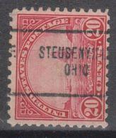 USA Precancel Vorausentwertung Preo, Locals Ohio, Steubenville 698-704 - Vereinigte Staaten