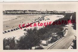 17- ROYAN- LA GRANDE CONCHE ET LE BOULEVARD GARNIER -TRAMWAY-  CARTE PHOTO REAL PHOTO PARIS N° 3 - Royan