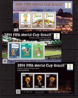 Japan-2014 (Mi.) , Football, Soccer, Fussball,calcio,MNH - 2014 – Brazil