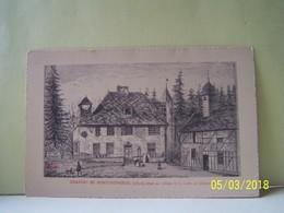 LES LOGES-MARGUERON (AUBE) CHATEAU DE MONTCHEVREUIL -1892- SITUE AU MILIEU DE LA FORET DE CHAOURCE. - Autres Communes