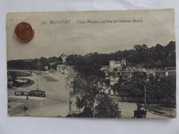 Boitsfort, Place Wiener, Au Loin Le Chàteau Morel, Tram, Brüssel, 1912 - Watermael-Boitsfort - Watermaal-Bosvoorde