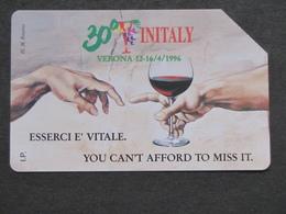 ITALY VERONA 30° VINITALY INTERNATIONAL WINE & SPIRITS EXIBITION  - USED, HIGHER QUALITY - Food