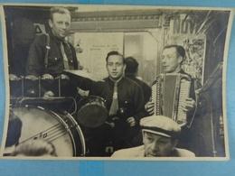 Lot De 3 Photos Orchestre ACS Ecaussinnes 1951 - Lieux