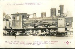 Les Locomotives Francaises Etat Machine 030-912 - Trains