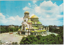 Sofia - Le Dome-monument 'Alexandre Nevski' - Gedächtniskirche - 3 X AUTOBUS/COACH  - (Bulgarie) - Bulgarije