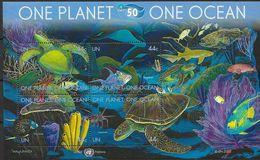 2010 UNO NEW YORK  Mi. Bl 32 **MNH  Ein Planet, Ein Ozean - 50 Jahre Internationale Ozeanographische Kommission - Ungebraucht