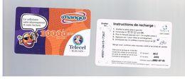 BURUNDI   -  TELECEL (GSM RECHARGE)  -  MANGO   10.000     - USED -  RIF. 376 - Burundi