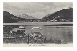 19520 - Am St. Moritzersee Barques - GR Grisons