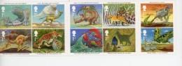 Kipling-Illustrations,crabe,papillon,chat,...Grande Bretagne 2002-Carnet***MNH - Writers