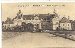 226. St-GEORGES-sur-LOIRE . CHATEAU DE SERRANT . CARTE NON ECRITE - Saint Georges Sur Loire