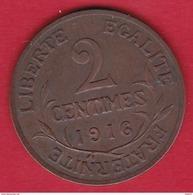 France 2 Centimes 1916 - B. 2 Centimes